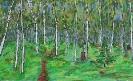 Path Through The Birches